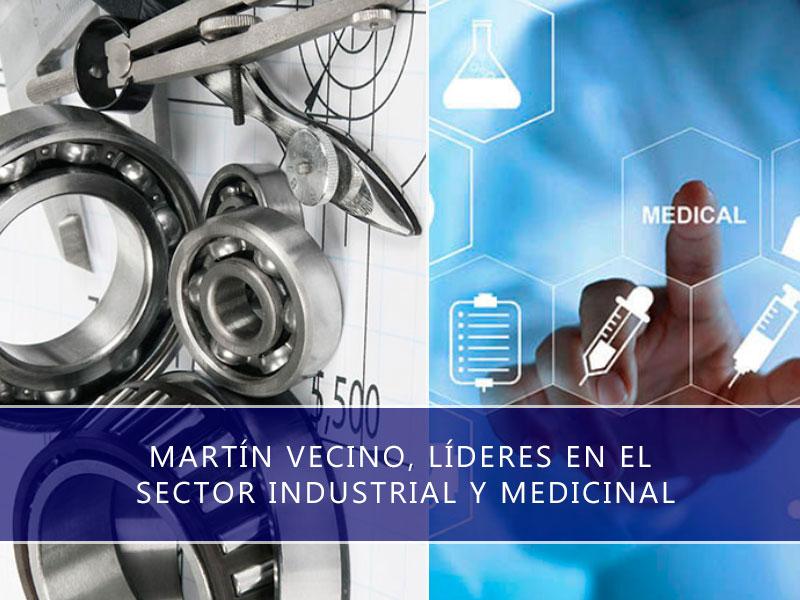 sector industrial y medicinal
