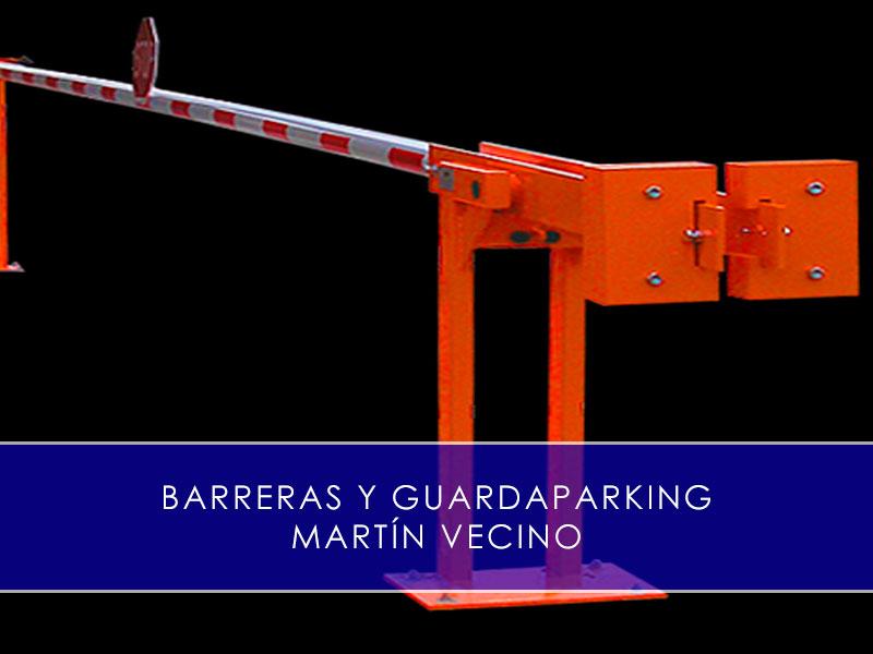 barreras y guardaparking