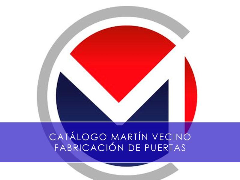 catálogo industrial martín vecino fabricación de puertas
