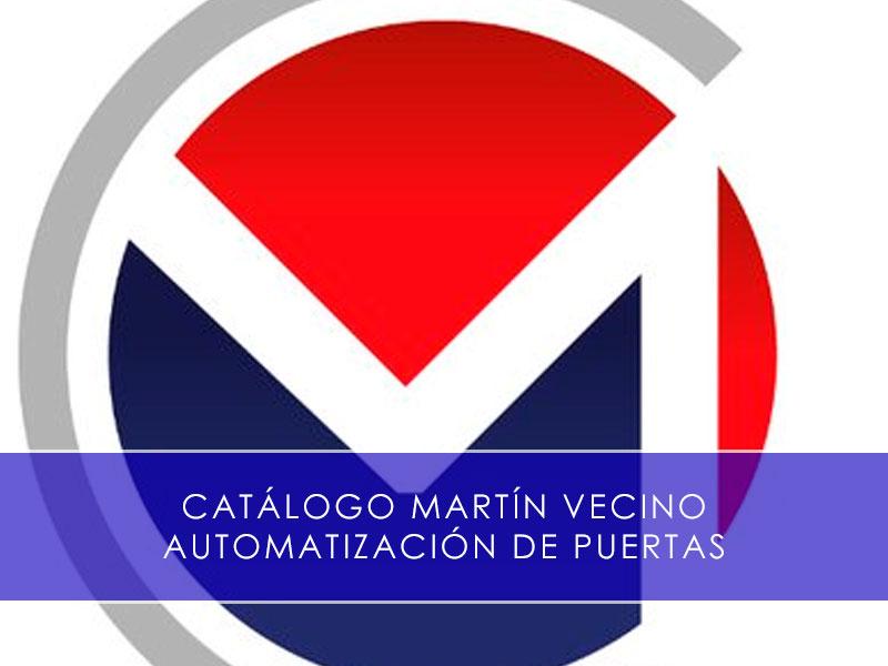 catalogo industrial martin vecino automatizacion de puertas
