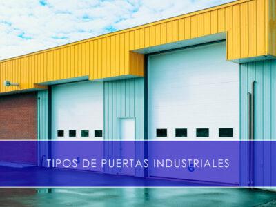 tipos de puertas industriales con Martín Vecino