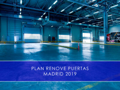 Plan Renove Puertas Madrid 2019