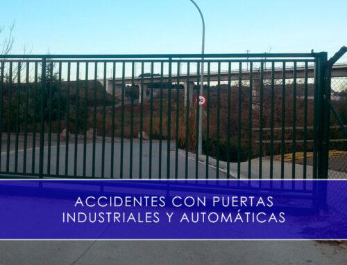 Accidentes con puertas industriales y automáticas