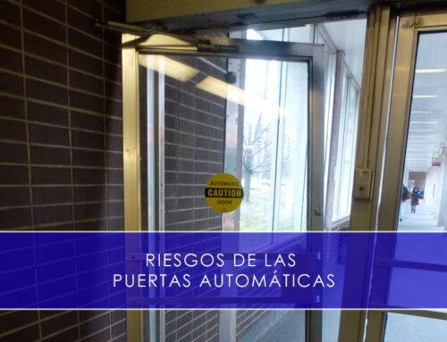 Riesgos de las puertas automáticas