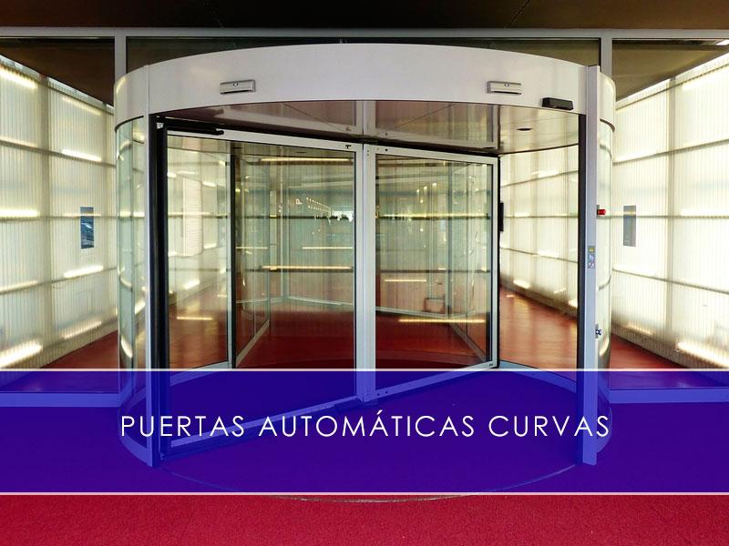 puertas automáticas curvas