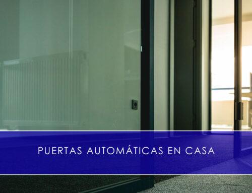 Puertas automáticas en casa