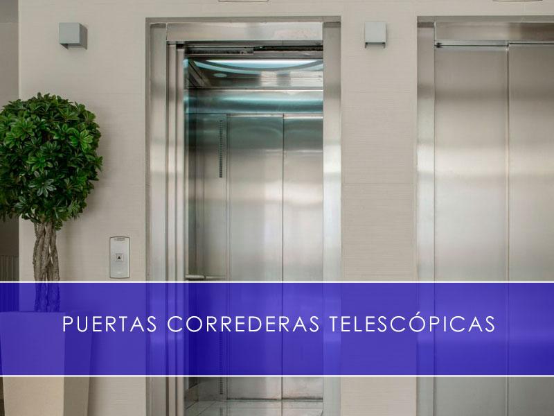 puertas correderas telescópicas