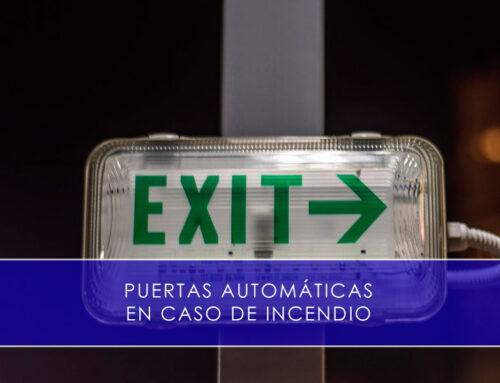 Puertas automáticas en caso de incendio