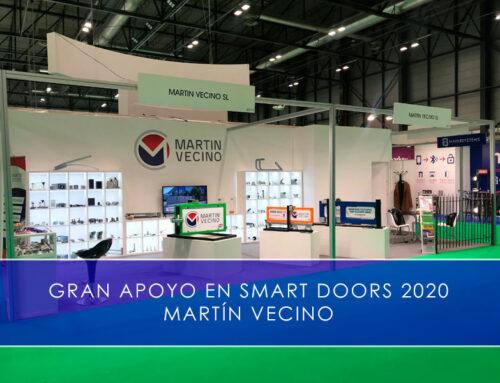 Gran apoyo en Smart Doors 2020