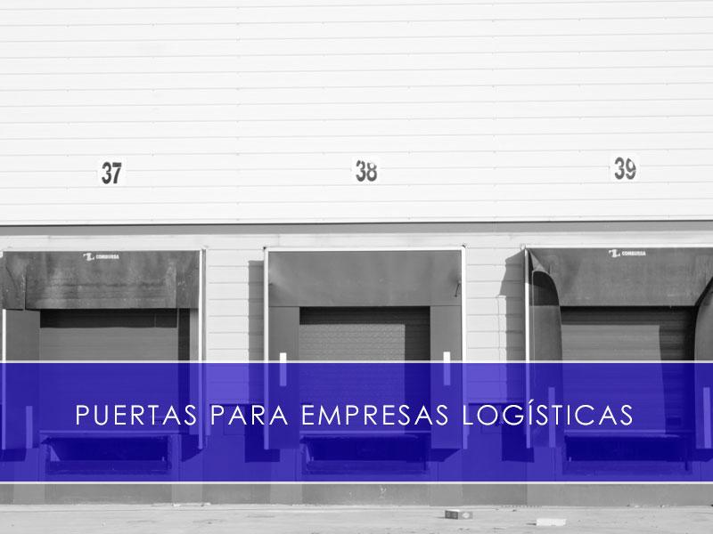 Puertas para empresas logísticas