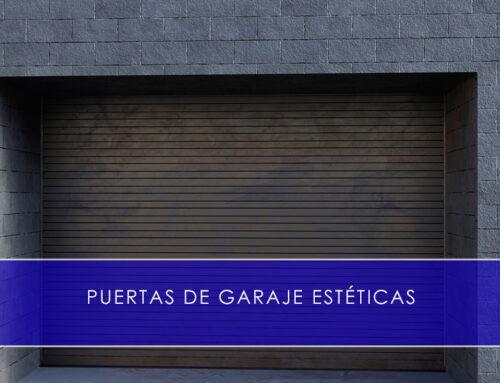 Puertas de garaje estéticas