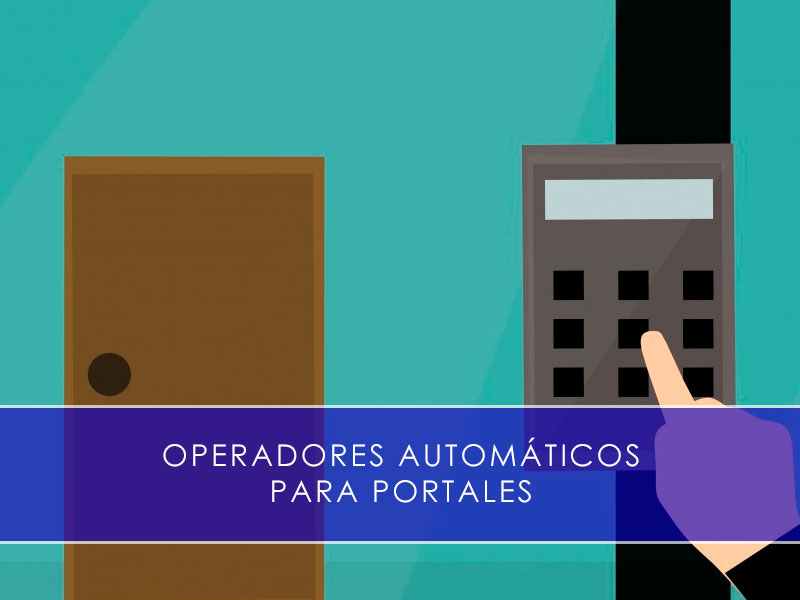 operadores automáticos para portales