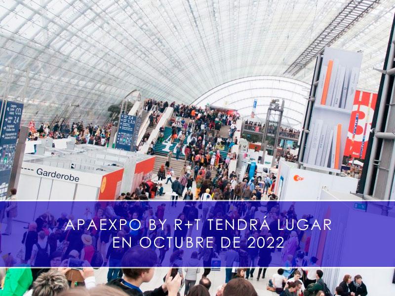 APAExpo by R+T tendrá lugar en octubre de 2022