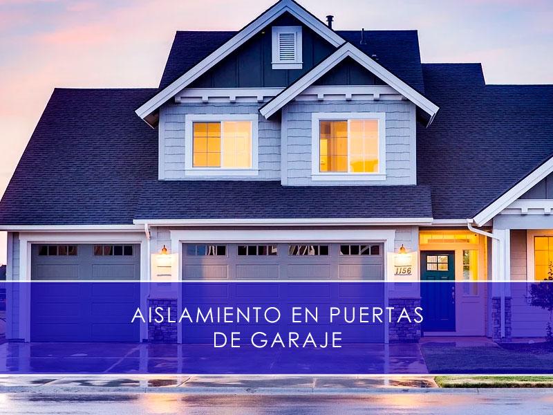 aislamiento en puertas de garaje - Martín Vecino