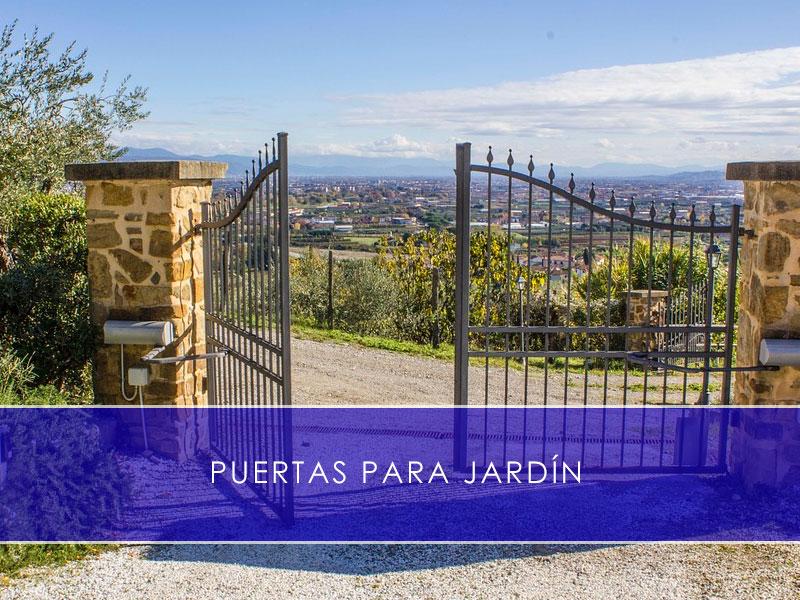 puertas para jardín - Martín Vecino