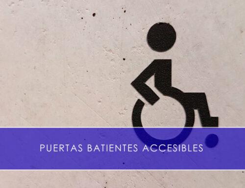 Puertas batientes accesibles