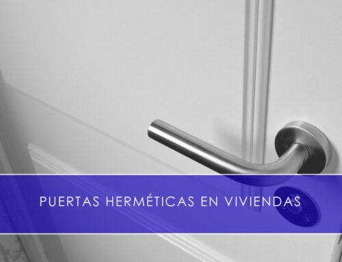 Puertas herméticas en viviendas