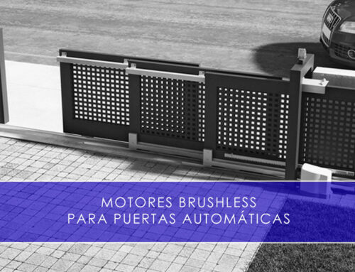 Motores brushless para puertas automáticas