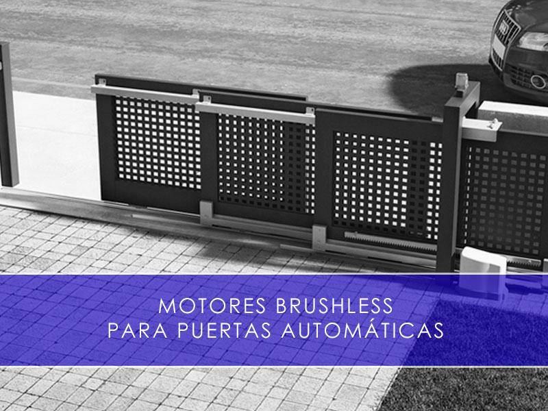 motores brushless para puertas automáticas - Martín Vecino