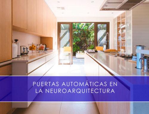 Puertas automáticas en la neuroarquitectura
