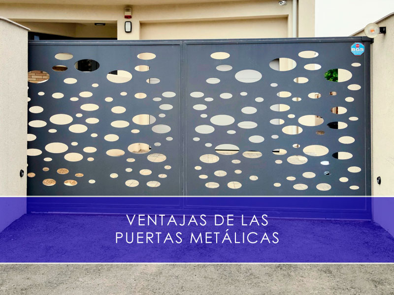 Ventajas de las puertas metálicas - Martín Vecino